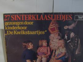 Nostalgische Sintdecoratie: Sinterklaas LP: de Kwikstaartjes