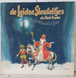 Nostalgische Sintdecoratie: LP SINTERKLAASLIEDJES. de Leidse Sleuteltjes o.l.v. Henk Franke. 1981