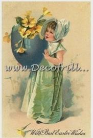 Paaskaart - Easter postcard 4