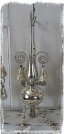 Oude/Antieke Piek. Met 2 klokjes en Leonisch draad. In doos - B