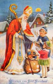 Sinterklaaskaart 27