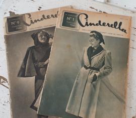 2 x CINDERELLA: NOVEMBER 1946 & FEBRUARI 1947. Prachtige plaatjes/advertenties!
