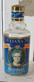 uit 1979: Oud BOLDOOT flesje. Beperkte oplage met Koningin Juliana