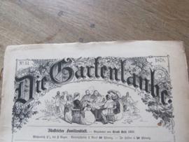 28 Nummers van 'DIE GARTENLAUBE' UIT 1878! Antiek. geïllustreerd familieblad