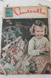 CINDERELLA, Tijdschrift voor de vrouw uit 1947. Kerstnummer