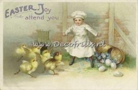 Paaskaart - Easter postcard 30