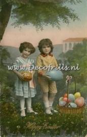 Paaskaart - Easter postcard 32