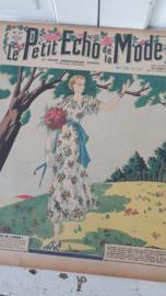 tijdschrift Le Petit ECHO de la MODE: 26 April 1936