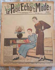 Antiek tijdschrift Le Petit ECHO de la MODE: Februari 1936