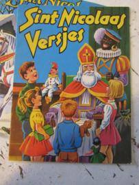 Oud Sinterklaasboekje. Versjes. ca. 1960 - A