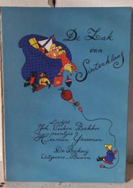 Uit 1946: DE ZAK VAN SINTERKLAAS. Liedjes Joh.Veeken, prentjes Hermien IJzerman