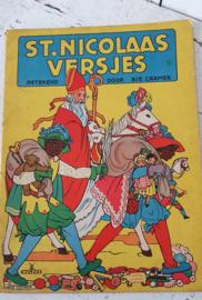 Oud Sinterklaasboek: St. Nicolaasversjes, getekend door Rie Cramer
