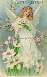 Paaskaart - Easter postcard 6