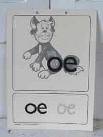 Oude Schoolplaat - Klasseplaat de OE van POES,   Meulenhoff 1989/1990
