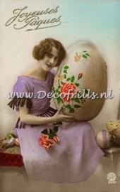 Paaskaart - Easter postcard 66