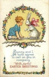 Paaskaart - Easter postcard 53