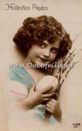 Paaskaart - Easter postcard 57