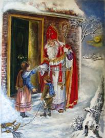 Sinterklaaskaart 14