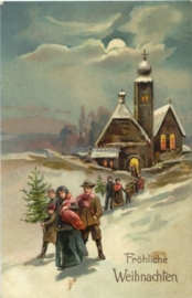 Kerstkaart 284