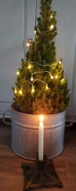 Kleine gietijzeren kerstboomstander
