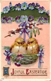 Paaskaart - Easter postcard 69