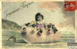 Paaskaart - Easter postcard 82