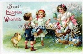 Paaskaart - Easter postcard 29