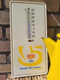 OLA vintage thermometer bordje