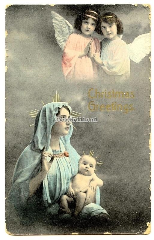 Kerstkaart 182