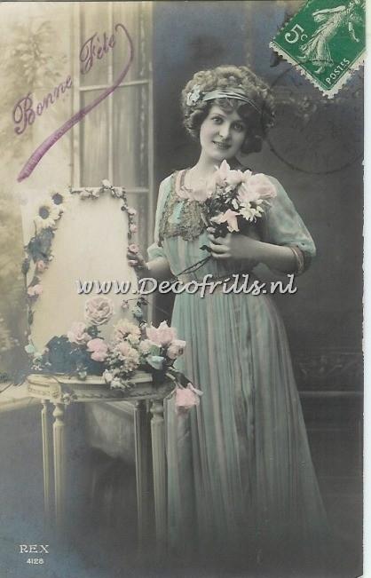 Victoriaanse/Nostalgische kaart 58