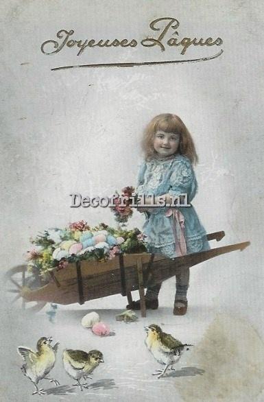 Paaskaart - Easter postcard 70