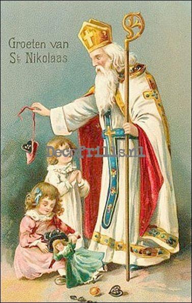 Sinterklaaskaart 1