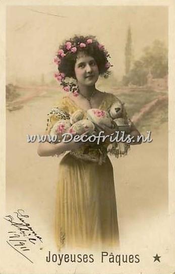 Paaskaart - Easter postcard 39