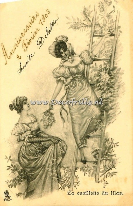Victoriaanse/Nostalgische kaart 105