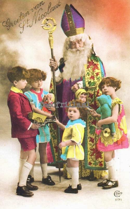 Sinterklaaskaart 28