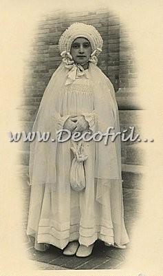Oude foto Eerste Heilige Communie