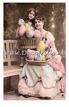 Paaskaart - Easter postcard 40