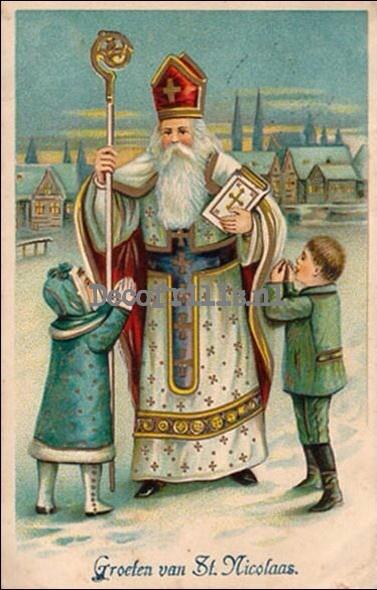 Sinterklaaskaart 23