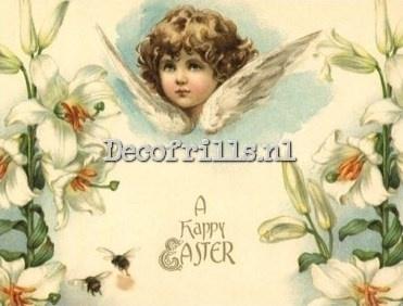 Paaskaart - Easter postcard 73