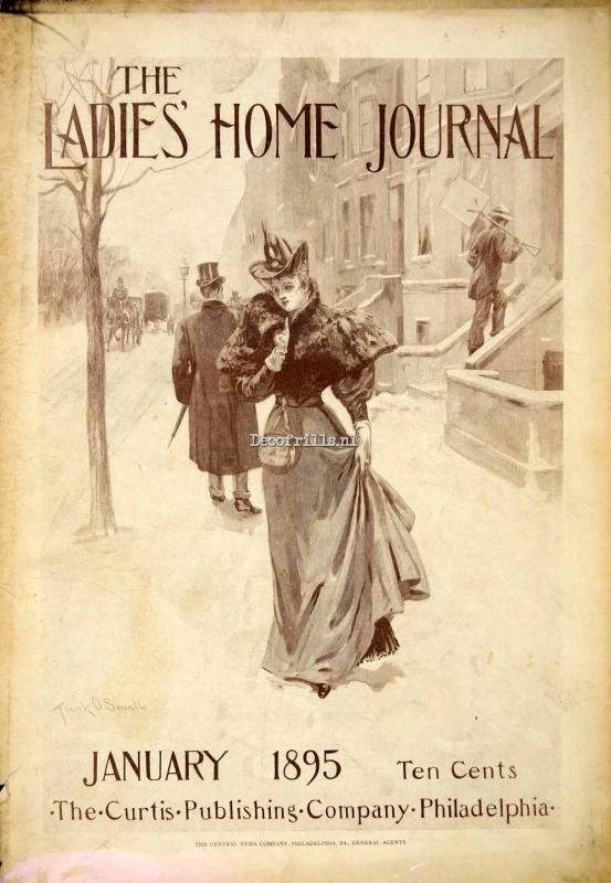 Nostalgische poster A4 - Ladies Home Journal
