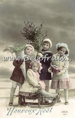 Victoriaanse Kerstkaart 11