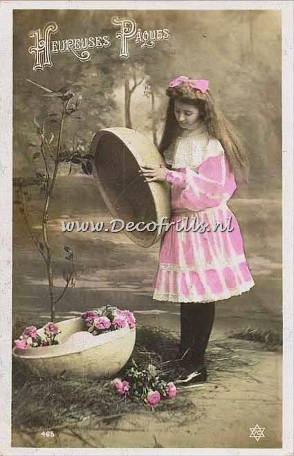 Paaskaart - Easter postcard 59