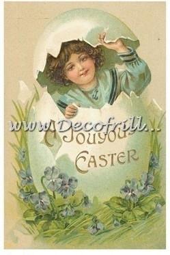 Paaskaart - Easter postcard 2
