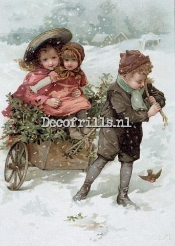 Kerstkaart 198
