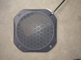 0031 audiospeaker afsekkap past op vele type`s aixam (zie omschrijving)