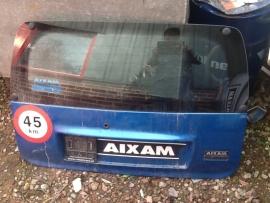 01461 achterklep aixam 400 zie omschrijving blauw