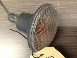 0164 lampunit richtingaanwijzer witte kap voorzijde aixam