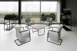 Ontvangststoel Alfa Lounge met sledeframe