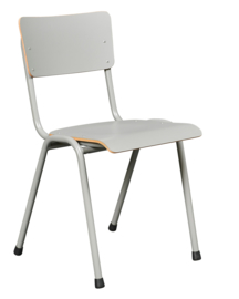 Kerkstoel / zaalstoel Pure Model 3390 met frame in kleur CPL zitting/rug