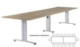 Huislijn Basic vergadertafel met koppelpoot